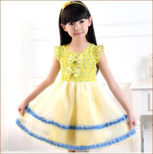 جدیدترین مدل های لباس مجلسی دختربچه ها