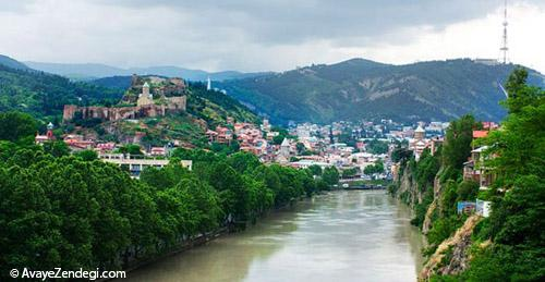 دیدنی های تفلیس، پایتخت گرجستان