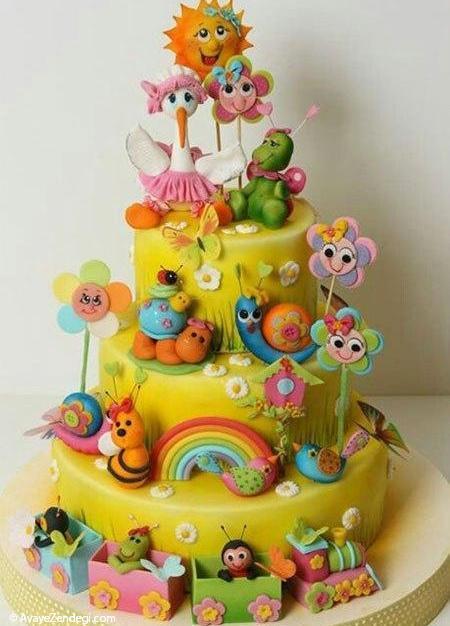 شگفتانگیزترین کیکهای تولد (2)