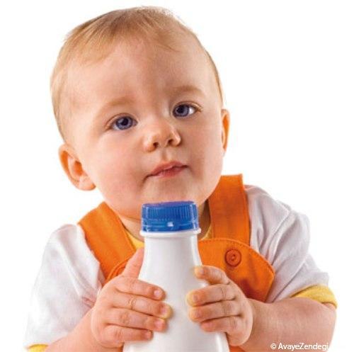 چگونه شیر گاو را جایگزین شیر مادر کنیم؟