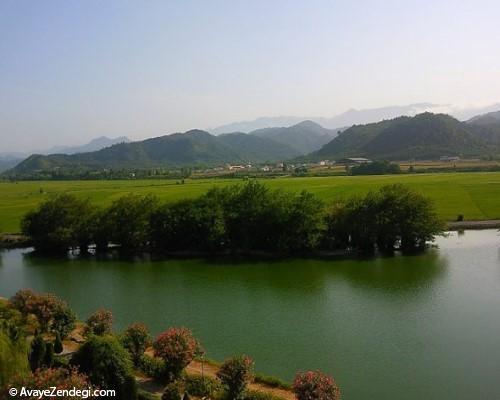 تالاب استیل؛ جاذبه گردشگری استثنایی در ایران