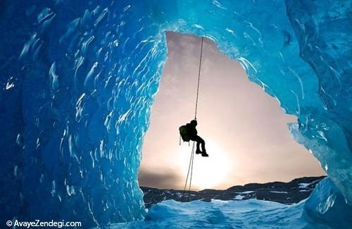 شگفتیهای یخی در سراسر دنیا