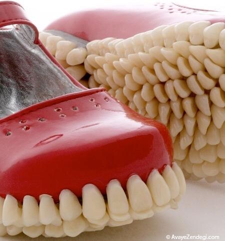 کفشی از جنس دندان انسان