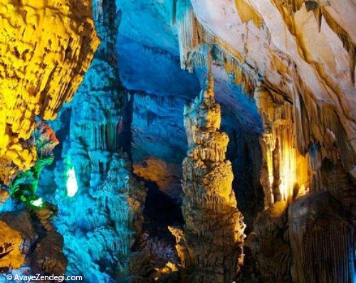 «رید فلوت» زیباترین غار آهکی جهان