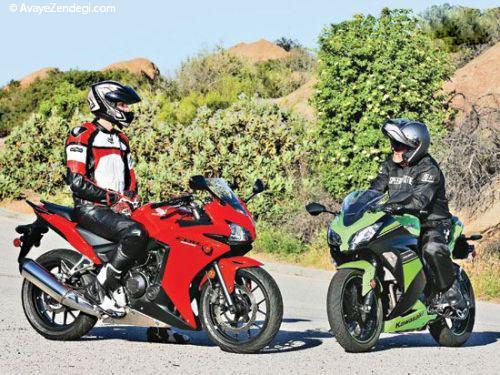 2 موتور سیکلت محبوب ژاپنی