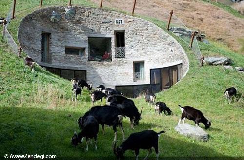 10 خانه زیر زمینی با طراحی شگفت انگیز