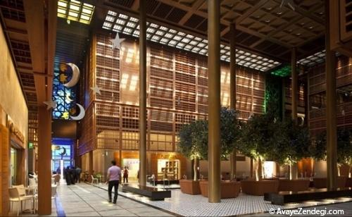 طراحی جالب بازار مرکزی تازه مرمت شده ابو ظبی