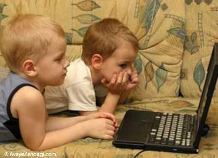 خطرات شایع در اینترنت برای کودکان