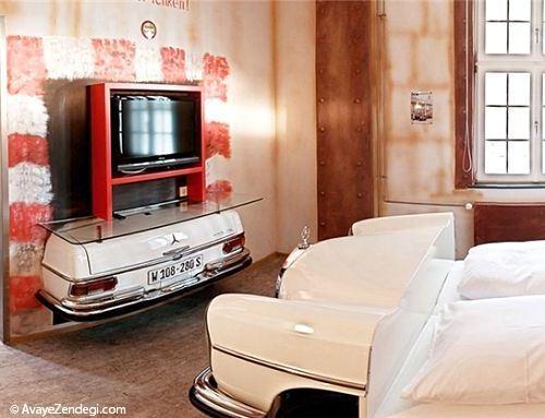 هتل جالب مخصوص دوستداران خودرو