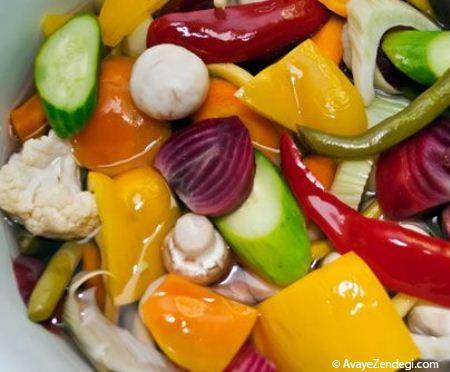 ترشی سبزیجات مامان پز با طعمی منحصر به فرد