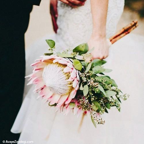 دسته گل عروس متنوع