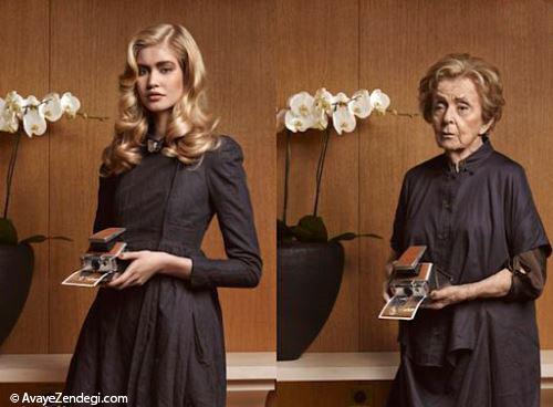 عکس های دختر جوان در 70 سال بعد