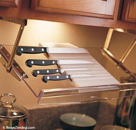 ایده هایی برای آشپزخانه های کوچک