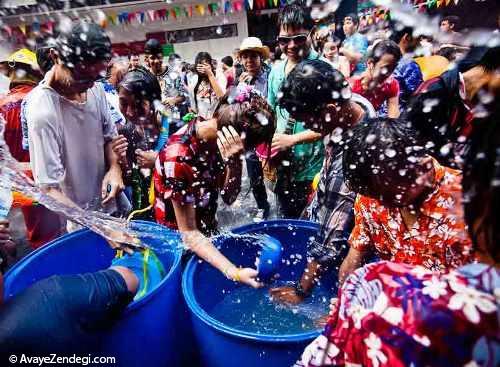 جشن آب پاشونک جشن آغاز تابستان