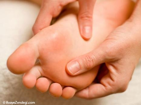 چرا کف پا درد می گیرد؟