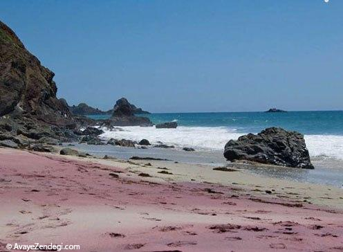 سواحل رنگی دنیا