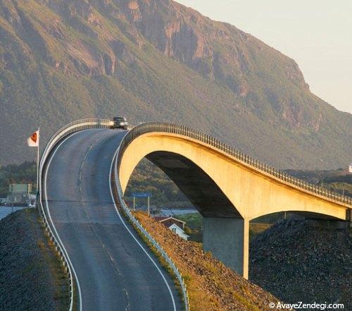خوش منظره ترین جاده های دنیا