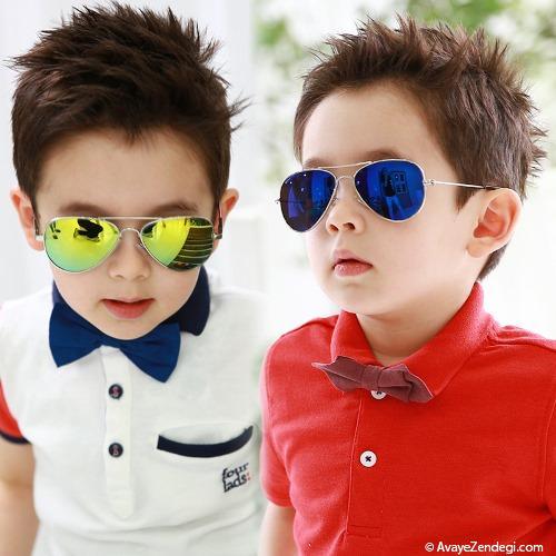 راهنمای خرید عینک آفتابی برای کوچولوها