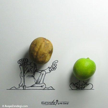 کاریکاتورهای زیبا