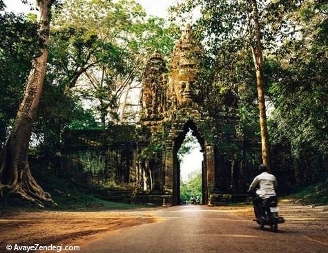 معابد متروکه دیدنی در کامبوج