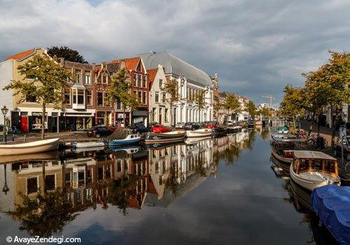 هلند، سرزمین آسیاب های بادی و گل لاله