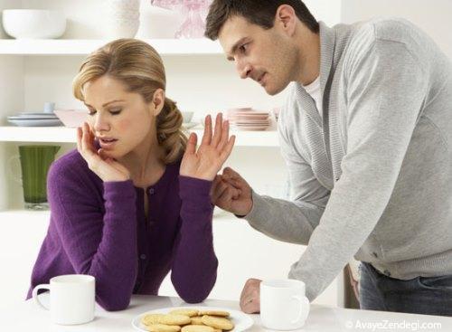 20 نشانه یک همسر سلطه گر و زورگو