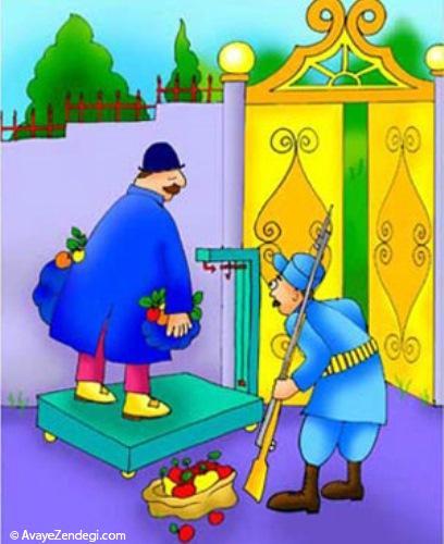 باغ شاه که رفتی ، نباید زیاد بیایی ، کم چرا!