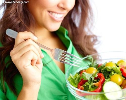 اهمیت یک رژیم غذایی متعادل و ورزش برای یک زندگی سالم