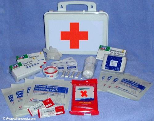 محتوای کیف کمک های اولیه