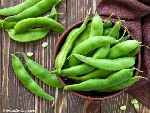 خواص لوبیای سبز