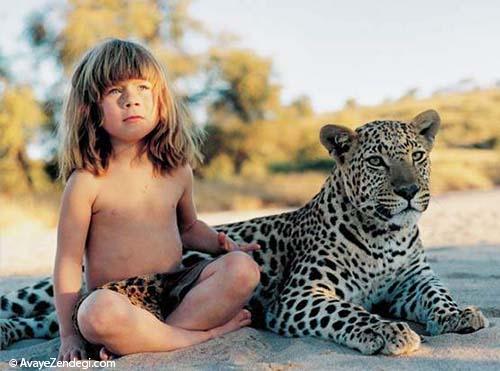 تارزان کوچولوی حیات وحش آفریقا